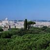 Veduta di Roma dalle terrazze dello Splendide Royal