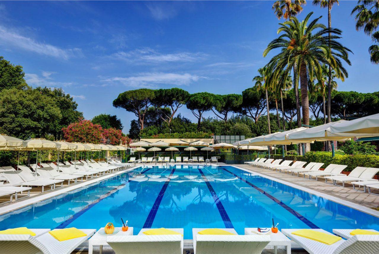 Piscine e zona umida alla prince spa il benessere nel for Rome hotel piscine