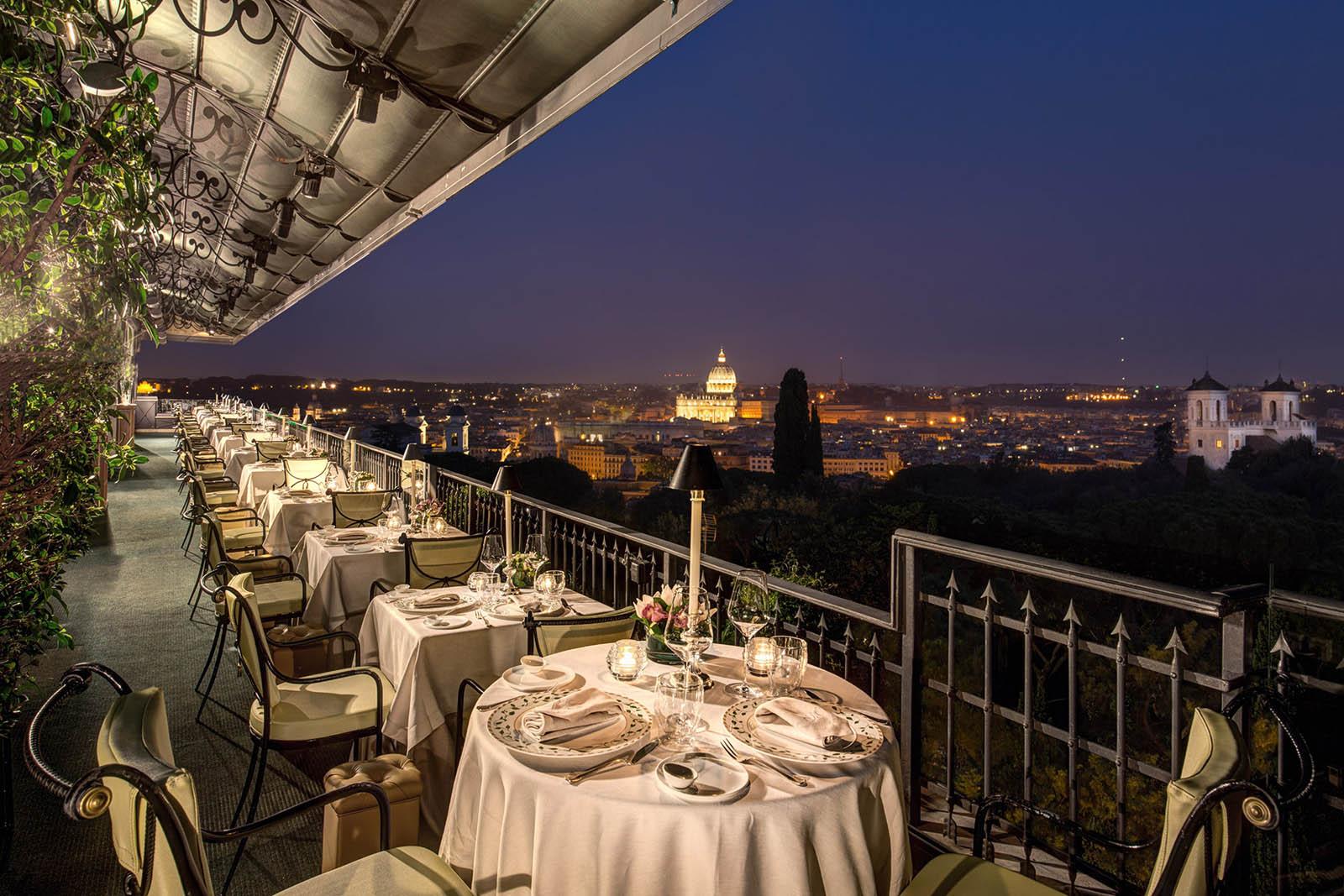 The Mirabelle Gourmet Restaurant In Rome Menu