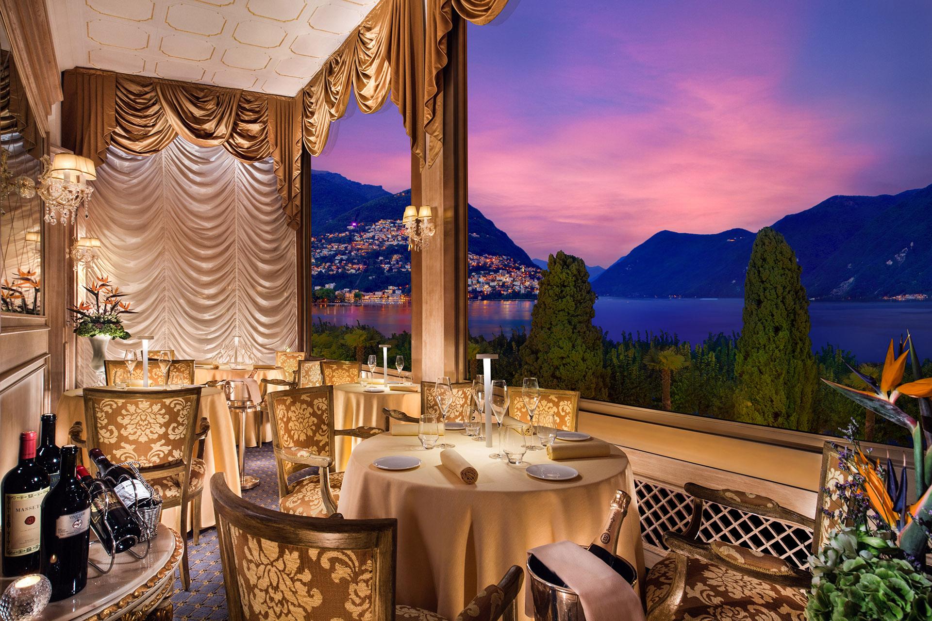 I Due Sud Restaurant On The Lake At Splendide Hotel