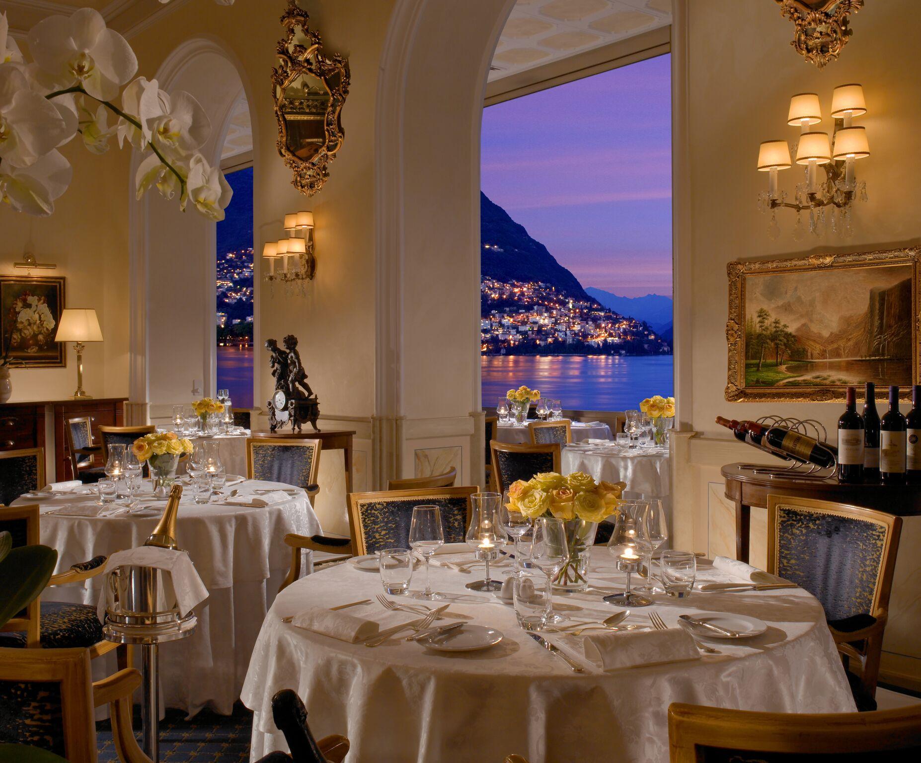 La Veranda Restaurant Hotel Splendide Royal Lugano