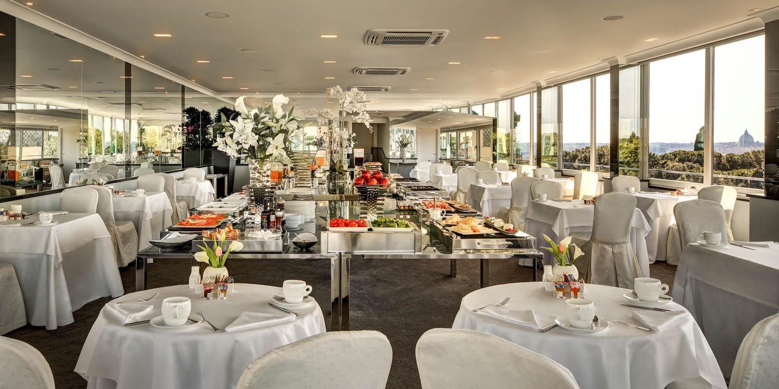 Breakfast In A Luxury Hotel In Rome Splendid Royal Hotel